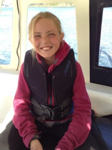 Nina (12): deck hand, vocal specialist leader and performance coordinator.